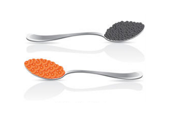 Illustration of Caviar/Roe