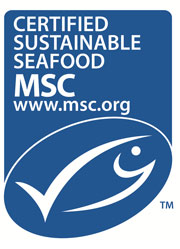 Logo for Marine Stewardship Council (MSC)